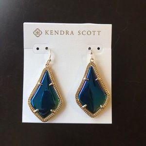 Kendra Scott Alex earrings in blue